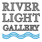 River Light Gallery vertical logo vector 5x5